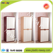 High grade export double door bedroom plastic Chest of drawers