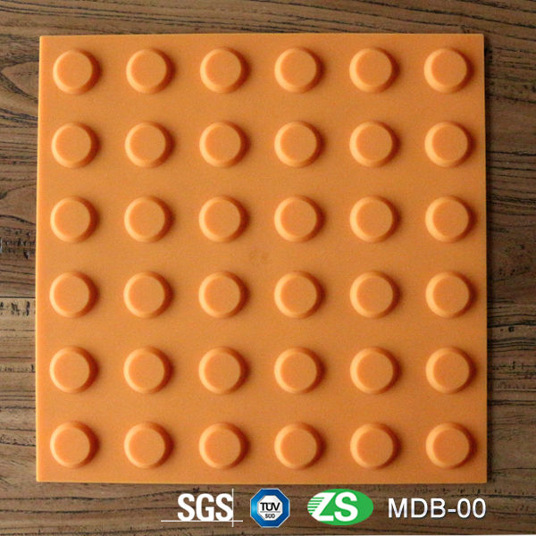 TPU PVC Soft Rubber large concrete pavers With 300mm Side Length