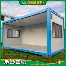 China supplier environmental flexible flat pack container house 40ft
