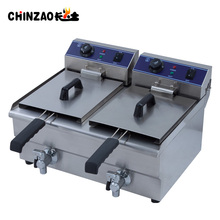 High Quality Double Tank Onion Frying Machine With CE SAA