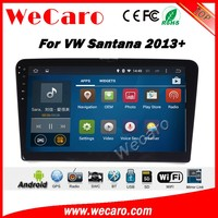 Wecaro WC-VS1026 10.2 inch android 4.4/5.1 car navigation system for vw Santana car radio 2013 + Wifi 3G GPS Radio RDS