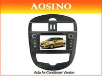 Aosino double din special car dvd gps / car radio / car audio for NISSAN NEW TIIDA 2011 for Auto Air-Conditioner Version