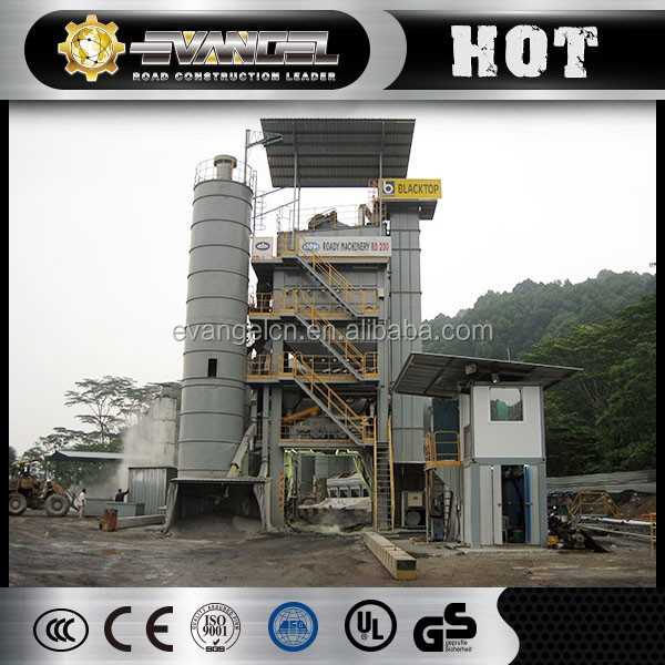 China Plant manufacturer ROADY RD200 200t/h asphalt concrete mixer machine