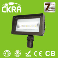 IP66 Rated surface conduit mounting outdoor decorative led flood light 80 watts