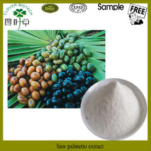 Saw palmetto in herbal extract