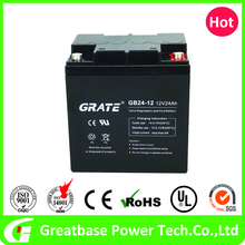 high quality Security System 12V 24AH ups battery