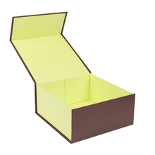 Custmized cardboard paper folding baseball cap packaging box