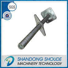 Adjustable steel Scaffolding Steel Screw Prop & jack base