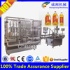 Shanghai factory Full auto olive oil filling production line,filling capping machine