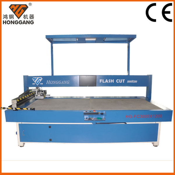 digital Vibrating blade garment cutting table