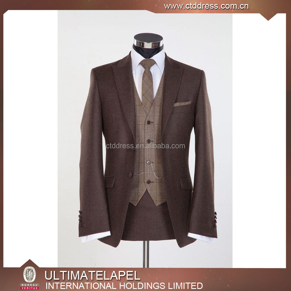 100% wool 120s half canvas mens bespoke suits tailored suits customized suits 2016