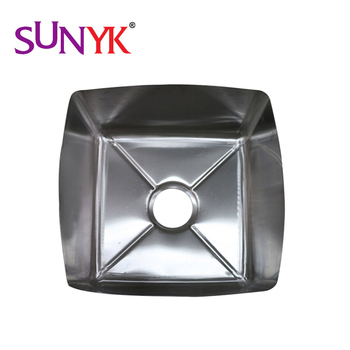 High Quality stainless steel single dowel sinks