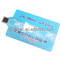 Slim business card usb flash drives 2013 new products