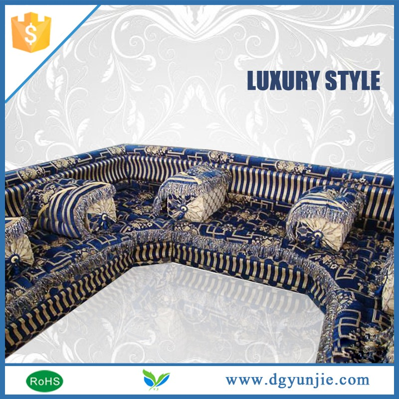 Big cushion China danxueya arabic majlis floor sofa with cheap price