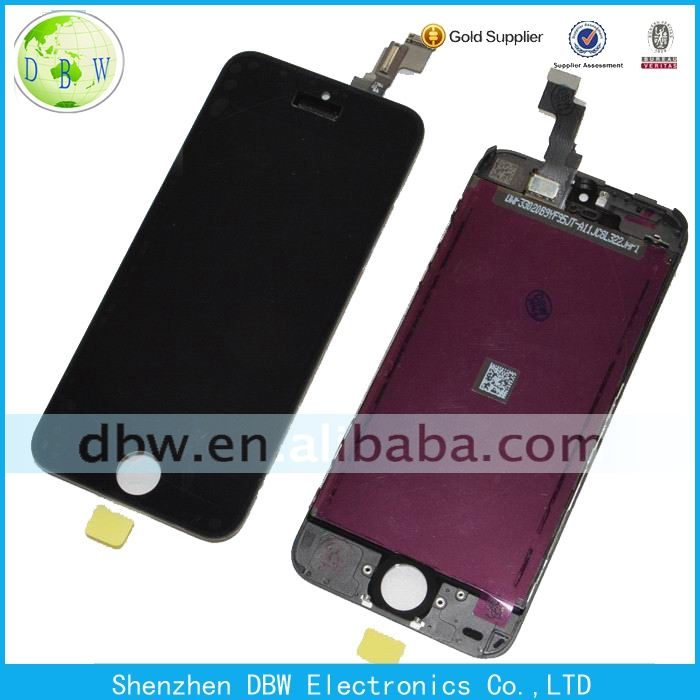 Free shipping !!! 100% Original lcd for iphone 5c lcd with touch screen replacement