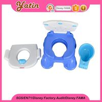 2015 Direct Factory! kids portable cushion step potty