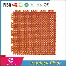 SG SPORTS High Quality Eco-friendly Interlock Sports Flooring for Inflatable Volleyball Court