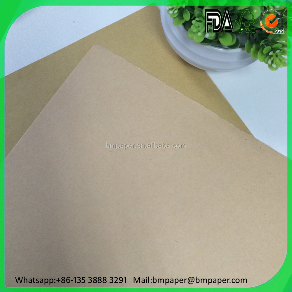 230 250 300gsm Virgin brown Kraft Liner Board Supplier