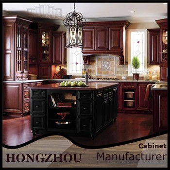 Classic style kitchen cabinet island cupboards made in for Made to order kitchen cabinets