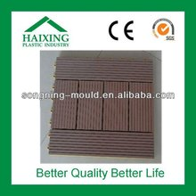 Portable interlocking outdoor deck tiles