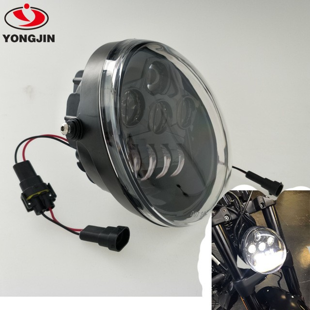 Faro fanale for harley davidson LED 60W Scheinwerfer headlight VROD V ROD NIGHT ROD