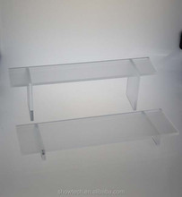 HOT sale Bench shape acrylic stable good glue display risers display rack ST-WRAK216MB K01