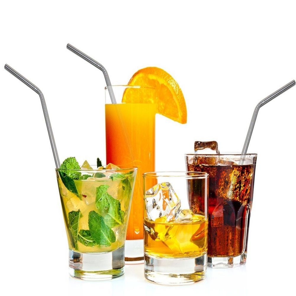 stainless steel straws for party