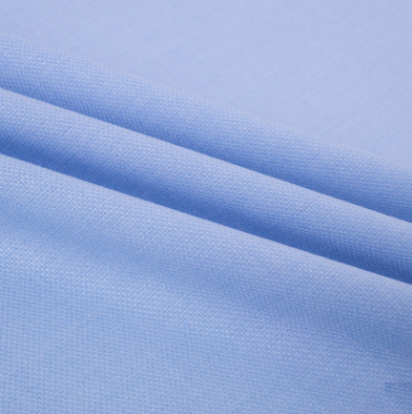 bamboo polyester plain dyeing shirt fabric with spandex