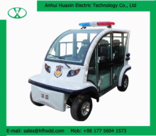 battery powered electric vehicle 4 seats electric security patrol car