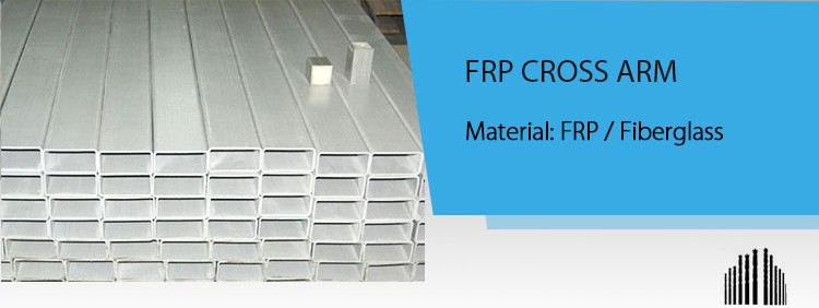 Heavy duty FRP cross arm, cross arm, Fiberglass cross arm