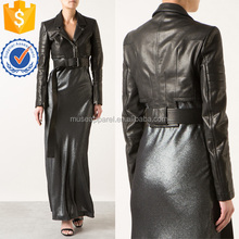 Black Leather Short perfecto Jacket OEM/ODM Women Apparel Clothing Garment Wholesaler Ropa Mujer