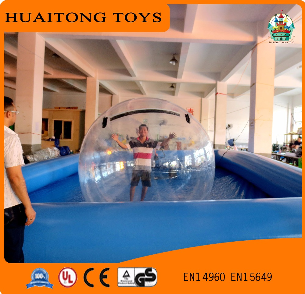Popular 2m PVC Inflatable Water Walking Ball inflatable hamster ball