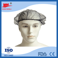 cheap kinds of color hair surgical caps nylon stocking cap