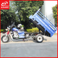 Nice Blue Color MTR Model Motor Tri Cycle Export To Egypt Market