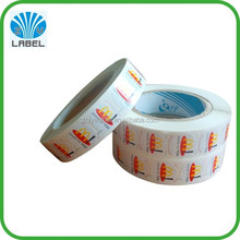 2015 Best Price printed custom adhesive labels for food containers