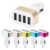 Multi Ports USB Charger 4.1A 5.1A Portable Car Chargers Travel Usb Car Charger For Samsung