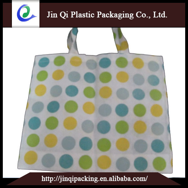 Durable thicker waterproof shopping bag