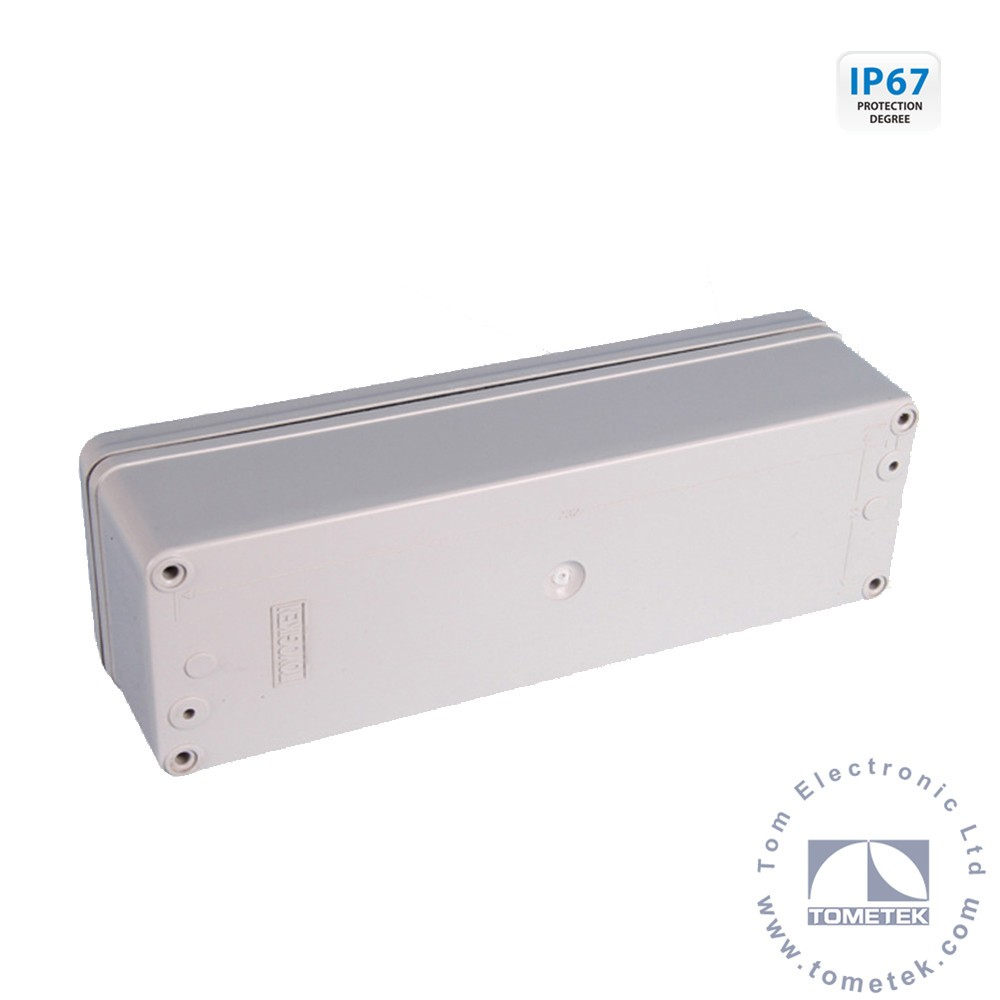 80*250*70mm IP67 switch and control box type outdoor plastic electric meter box