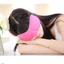 Wholesale Promotion Breathable Cotton Travel 3D Sleep Eye Masks With Earplug