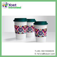Printing disposable bowl coffee paper cup