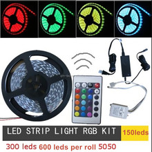 12v 24v 5050 dmx pixel rgb computer controlled led strip lighting