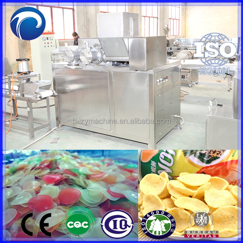 Pellet Snack Food Processing Linel-Automatic Vietnam Prawn Crackers Maker | Pani Puri Making Machine