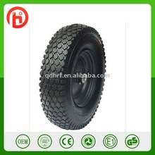 Small pneumatic rubber wheel PR1812 with 10 inch