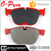 OEM 0034205120 GDB1546 Genuine rear wheel brake pad set for MERCEDES BENZ W211 W212 W220 W221