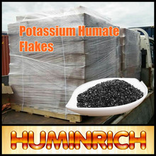 """HuminRich"" High Grade K Fulvate Soluble Super Potassium Humate 98% Shiny Flakes"