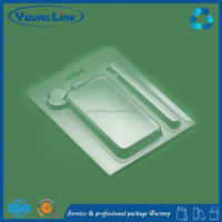 ps thermoformed clamshell medical blister packaging