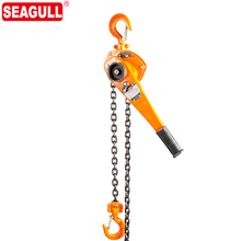 HSH-V 1 ton hand chain pulley hoist safety lever block the price of 1 ton pulley
