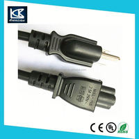 2m IEC C13 Female - US 3 PIN Male Plug power cables for computers