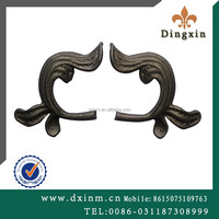The small metal ornaments iron window grill design