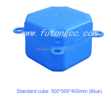 Plastic pontoon brick HDPE floating pontoon dock